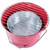 Stainless Steel Bucket Shape Barbecue Grill for sale