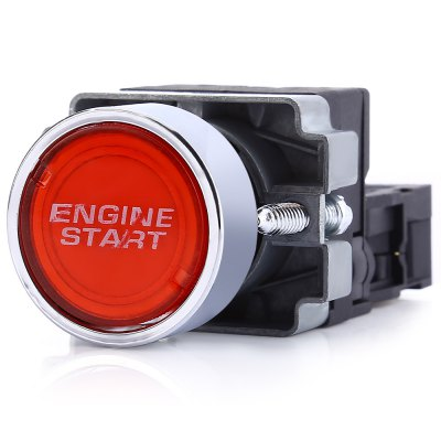 Car 12V LED Ignition Toggle Switch Button