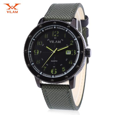 VILAM V2002G - A - 02 Men Quartz Watch
