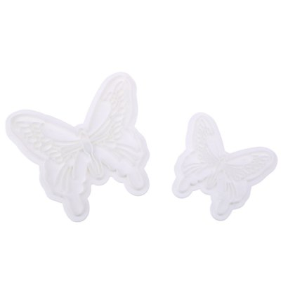 2pcs Butterfly Cake Fondant Decorating Mold