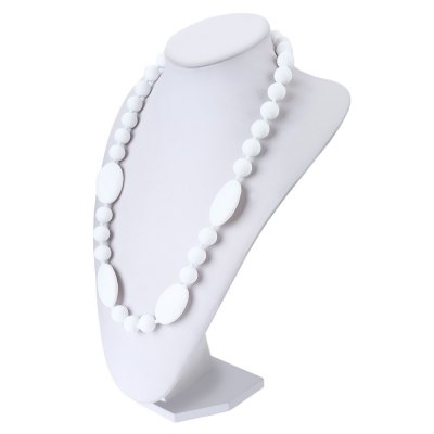 Soft Silica Gel Baby Silicone Necklace Teethers for Massage Tooth