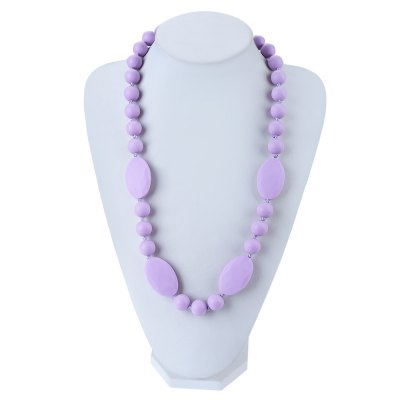 Soft Silica Gel Baby Silicone Necklace Teethers for Massage ToothBaby Care<br>Soft Silica Gel Baby Silicone Necklace Teethers for Massage Tooth<br><br>Material Features: Soft Silica Gel<br>Function: Teether<br>Packaging: Single loaded<br>Material: Silica Gel<br>Suitable Age: 1-5 years old,3 years old up<br>Shape: Round<br>Product weight: 0.088 kg<br>Package weight: 0.100 kg<br>Product size (L x W x H): 68.00 x 3.00 x 1.00 cm / 26.77 x 1.18 x 0.39 inches<br>Package size (L x W x H): 9.00 x 7.00 x 7.00 cm / 3.54 x 2.76 x 2.76 inches<br>Package Content: 1 x Teether