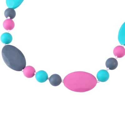 Safety Silica Gel Material Babies Teether Necklace ToysBaby Care<br>Safety Silica Gel Material Babies Teether Necklace Toys<br><br>Material Features: Soft Silica Gel<br>Function: Teether<br>Packaging: Single loaded<br>Material: Silica Gel<br>Suitable Age: 0-6 years old<br>Shape: Long<br>Product weight: 0.088 kg<br>Package weight: 0.100 kg<br>Product size (L x W x H): 68.00 x 3.00 x 1.00 cm / 26.77 x 1.18 x 0.39 inches<br>Package size (L x W x H): 9.00 x 7.00 x 7.00 cm / 3.54 x 2.76 x 2.76 inches<br>Package Content: 1 x Teether