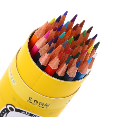 Zibom 36 Colored Drawing Wooden Pencil Kit