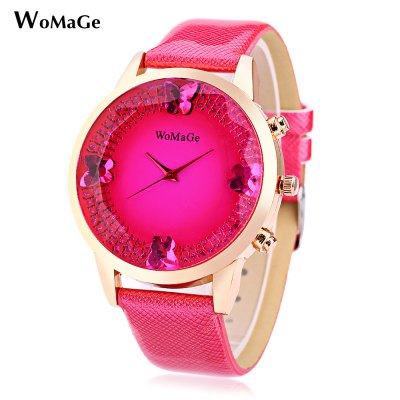 WOMAGE Women Quartz Watch