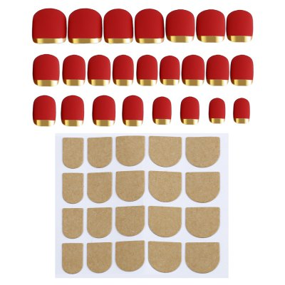 Fingernails Wrapping Small Short Manicure Patch Nail Sticker