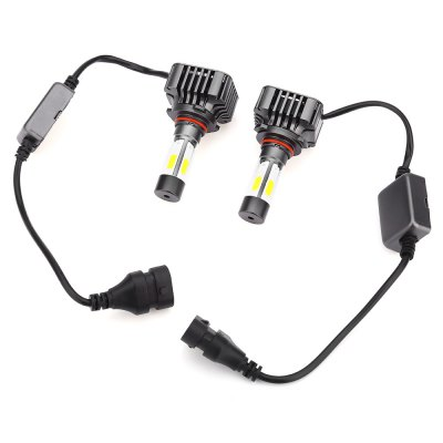 Paired V8 9005 40W Integrated LED Vehicle Headlight
