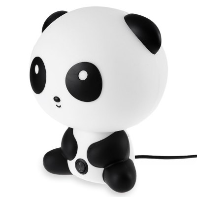 Panda Design Warm Light Energy Saving Desk Lamp