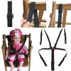 Adjustable Babies Chair Stroller Five-point Safety Belt