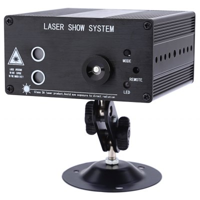 24 Patterns RGB Laser Projector Stage Light