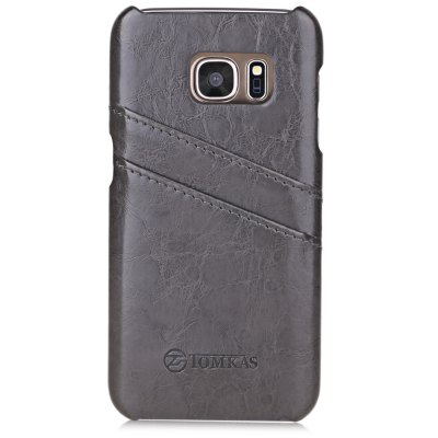 Tomkas PU Leather Protective Case for Samsung S7