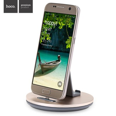 HOCO CW1 Mobile Phone Charging Holder with Micro USB