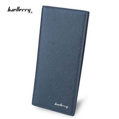 Baellerry Thin Soft Long Photo Cash Card Wallet