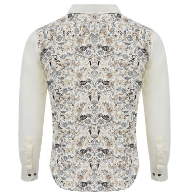 Floral Print Slim Fit Patchwork Male Long Sleeve ShirtMens Shirts<br>Floral Print Slim Fit Patchwork Male Long Sleeve Shirt<br><br>Collar: Turn-down Collar<br>Fabric Type: Broadcloth<br>Material: Cotton Blends<br>Package Contents: 1 x Shirt<br>Shirts Type: Casual Shirts<br>Sleeve Length: Full<br>Weight: 0.156kg