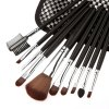 Makeup Brushes Tool Set with Lattice Storage Bag for sale