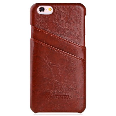 TOMKAS Oil Wax Leather Case for iPhone 6 Plus / 6S Plus