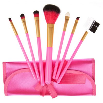 Makeup Powder Foundation Brush with Storage Pouch