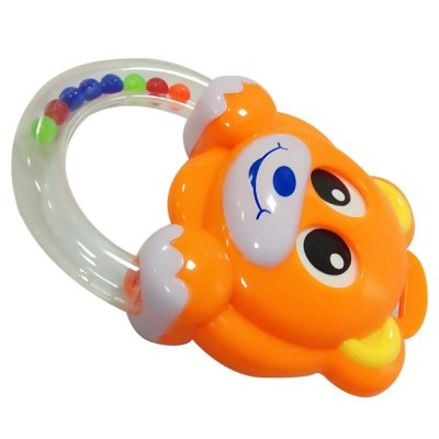 Colorful Infant Bear Shape Handbell Rattle Hanging Toy