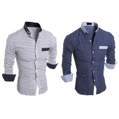Slim Fit Lattice Turn Down Collar Long Sleeve for MaleMens Shirts<br>Slim Fit Lattice Turn Down Collar Long Sleeve for Male<br><br>Collar: Turn-down Collar<br>Fabric Type: Polyester<br>Material: Cotton Blends<br>Package Contents: 1 x Shirt<br>Shirts Type: Casual Shirts<br>Sleeve Length: Full<br>Weight: 0.1800kg