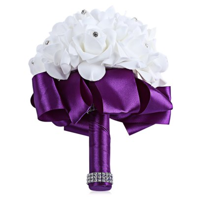 PE Foam Bride Bouquet Holding Flower