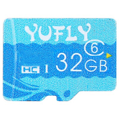 YUFLY Class 6 TF Storage Card Micro SD Memory Device