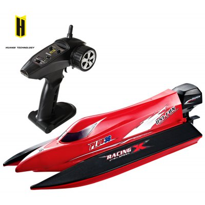 HUANQI 963 2.4G 4CH 50km/h Brushless Motor Remote Control Boat
