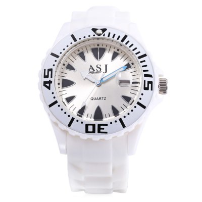 ASJ B105 Children Quartz WatchKids Watches<br>ASJ B105 Children Quartz Watch<br><br>Band Length: 8.66 inch<br>Band Material Type: Silicone<br>Band Width: 22mm<br>Case material: Plastic<br>Case Shape: Round<br>Clasp type: Pin Buckle<br>Dial Diameter: 1.65 inch<br>Dial Display: Analog<br>Dial Window Material Type: Plastic<br>Feature: Date,Luminous<br>Gender: Children<br>Movement: Quartz<br>Style: Sport<br>Product weight: 0.037 kg<br>Package weight: 0.058 kg<br>Product Size(L x W x H): 25.00 x 5.00 x 1.00 cm / 9.84 x 1.97 x 0.39 inches<br>Package Size(L x W x H): 26.00 x 6.00 x 2.00 cm / 10.24 x 2.36 x 0.79 inches<br>Package Contents: 1 x ASJ B105 Children Quartz Watch