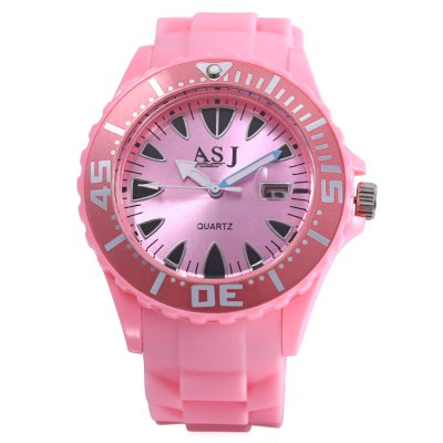 ASJ B105 Children Quartz WatchASJ B105 Children Quartz Watch<br><br>Band Length: 8.66 inch<br>Band Material Type: Silicone<br>Band Width: 22mm<br>Case material: Plastic<br>Case Shape: Round<br>Clasp type: Pin Buckle<br>Dial Diameter: 1.65 inch<br>Dial Display: Analog<br>Dial Window Material Type: Plastic<br>Feature: Date,Luminous<br>Gender: Children<br>Movement: Quartz<br>Style: Sport<br>Product weight: 0.037 kg<br>Package weight: 0.058 kg<br>Product Size(L x W x H): 25.00 x 5.00 x 1.00 cm / 9.84 x 1.97 x 0.39 inches<br>Package Size(L x W x H): 26.00 x 6.00 x 2.00 cm / 10.24 x 2.36 x 0.79 inches<br>Package Contents: 1 x ASJ B105 Children Quartz Watch