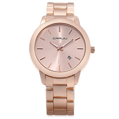 CRRJU 2210 Women Quartz WatchWomens Watches<br>CRRJU 2210 Women Quartz Watch<br><br>Band Length: 8.66 inch<br>Band Material Type: Stainless Steel<br>Band Width: 20mm<br>Case material: Alloy<br>Case Shape: Round<br>Clasp type: Folding Clasp<br>Dial Diameter: 1.72 inch<br>Dial Display: Analog<br>Dial Window Material Type: Glass<br>Feature: Date,Luminous<br>Gender: Women<br>Movement: Quartz<br>Style: Dress<br>Water Resistance Depth: 30m<br>Product weight: 0.113 kg<br>Package weight: 0.191 kg<br>Product Size(L x W x H): 22.00 x 4.50 x 0.80 cm / 8.66 x 1.77 x 0.31 inches<br>Package Size(L x W x H): 9.00 x 9.00 x 6.00 cm / 3.54 x 3.54 x 2.36 inches<br>Package Contents: 1 x CRRJU 2210 Women Quartz Watch