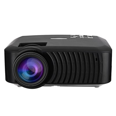 RUISHIDA M3 LCD ProjectorProjectors<br>RUISHIDA M3 LCD Projector<br><br>Model: M3<br>Material: ABS<br>Display type: LCD<br>Native Resolution: 1280 x 720<br>Brightness: 3000LM<br>Contrast Ratio: 1000:1<br>Throw Ration: 1.3:1<br>Projection Distance: 1.0 - 5.0m<br>Image Size: 32 - 170 inch<br>Image Scale: 16:9,4:3<br>Lamp Power: 50W<br>Lamp: LED<br>Interface: Earphone,RJ45,SD Card Slot,SPDIF,USB<br>WIFI: 802.11b/g/n<br>Bluetooth: Bluetooth 4.0<br>Picture Formats: JPEG / GIF / PNG<br>Video Formats: MPEG4 / MKV / RMVB<br>Audio Formats: MP2 / MP3 WAV / AAC / AC3 / OGG<br>Power Supply: 90-240V<br>Color: Black,White<br>Built-in Speaker: Yes<br>DVB-T Supported: No<br>External Subtitle Supported: Yes<br>Aspect ratio: 16:9 / 4:3<br>3D: Yes<br>Product weight: 1.164 kg<br>Package weight: 1.926 kg<br>Product size (L x W x H): 21.20 x 17.00 x 8.50 cm / 8.35 x 6.69 x 3.35 inches<br>Package size (L x W x H): 32.50 x 22.00 x 11.00 cm / 12.8 x 8.66 x 4.33 inches<br>Package Contents: 1 x RUISHIDA M3 LCD Projector, 1 x IR Remote, 1 x Power Adapter, 1 x Screw, 1 x English User Manual