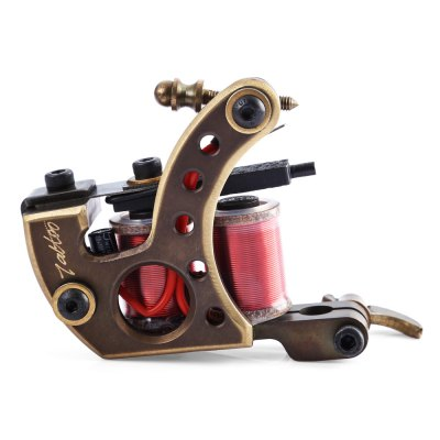 Professional 12 Wrap Coils Tattoo Machine Shader Guns
