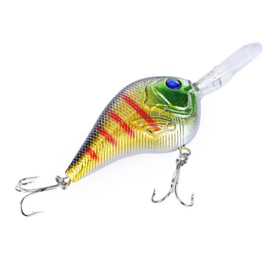 PROBEROS 9.5CM Hard Fish Shape Fishing Crank Bait