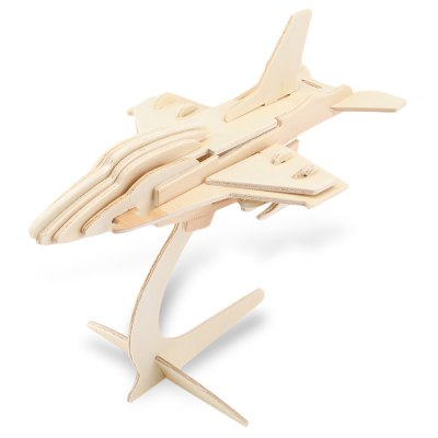 Wooden Aircraft Model Construction Kit Toy