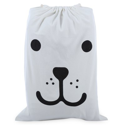 Cute Laundry Storage Canvas Bag