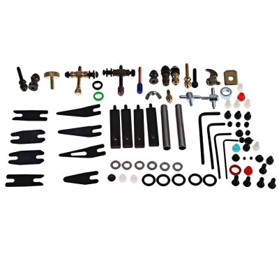 Tattoo Accessories Parts Kit for Machine Gun Repair Supply with Big Box