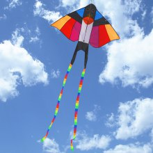 Colorful Carbon Steel Swallow Style Flying Kite