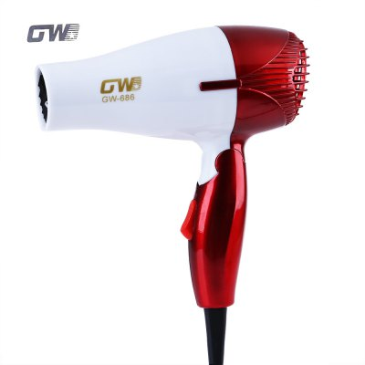 GUOWEI Portable Traveller Compact Blower Hair Dryer
