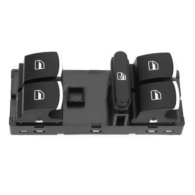 Car Window Master Chrome Plate Switch Driver Glass LifterOther Car Gadgets<br>Car Window Master Chrome Plate Switch Driver Glass Lifter<br><br>Color: Black<br>Material Type: Plastic<br>Product weight: 0.074 kg<br>Package weight: 0.103 kg<br>Product Size(L x W x H): 10.50 x 4.00 x 3.30 cm / 4.13 x 1.57 x 1.3 inches<br>Package Size(L x W x H): 13.00 x 7.00 x 5.00 cm / 5.12 x 2.76 x 1.97 inches<br>Package Contents: 1 x Car Window Master Switch