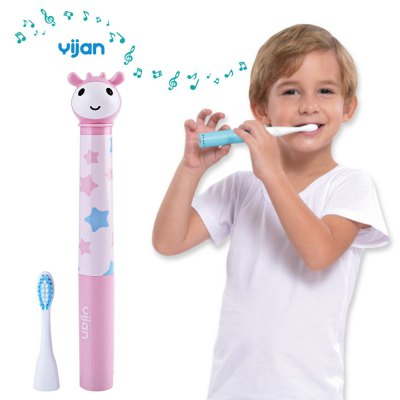 Yijan T2S Upgrade IPX7 Waterproof Music Electric Toothbrush