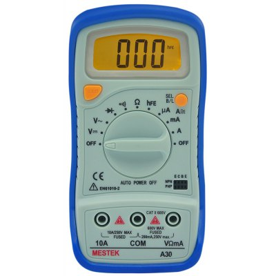 PEAKMETER A30 Auto Range Digital Multimeter with Backlight
