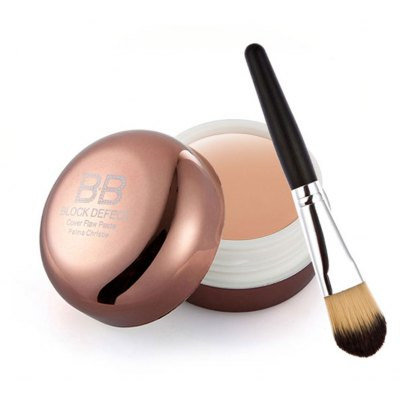 Moisture Whitening BB Concealer with Foundation Brush