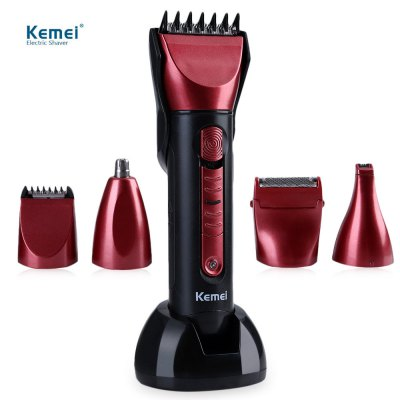 Kemei KM - 8058 Washable Electric Hair Clipper Shaver