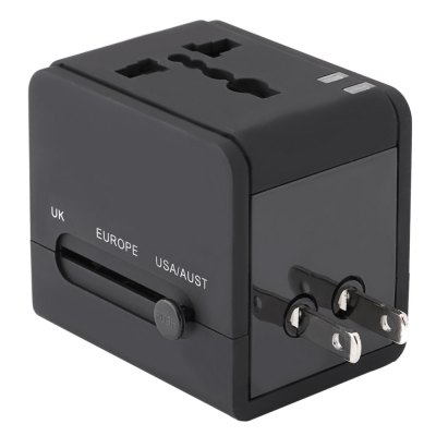 HHT148 Dual USB Port Charging Travel Adapter