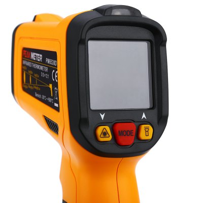 PEAKMETER PM6530D LCD Display Infrared Thermometer