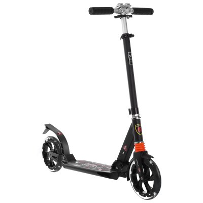 Portable Double Shock Aluminum Alloy Folding Scooter