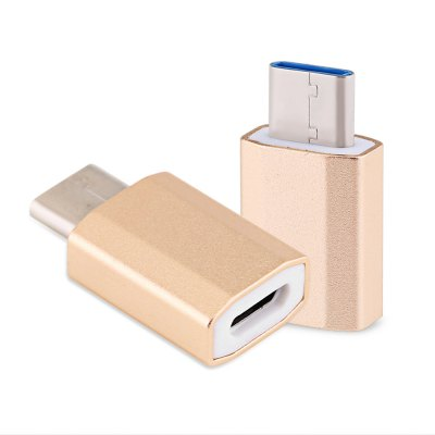 Type-C USB 3.1 to Micro USB Diamond OTG Data Adapter
