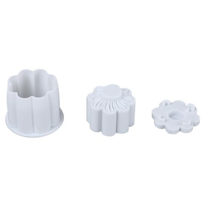 2pcs Cake Plunger Mold Decorating Tool