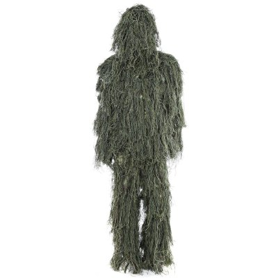 Hunting Woodland Camo Sniper Ghillie Suit Set