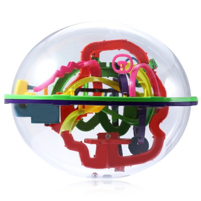 Creative Intellect 3D Labyrinth Ball Brain Teaser Puzzle Game