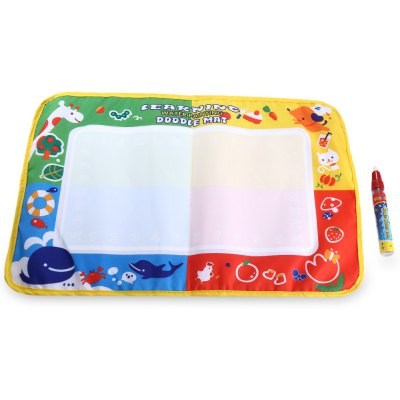 Kids Magic Water Drawing Writing Mat Toy with Pen